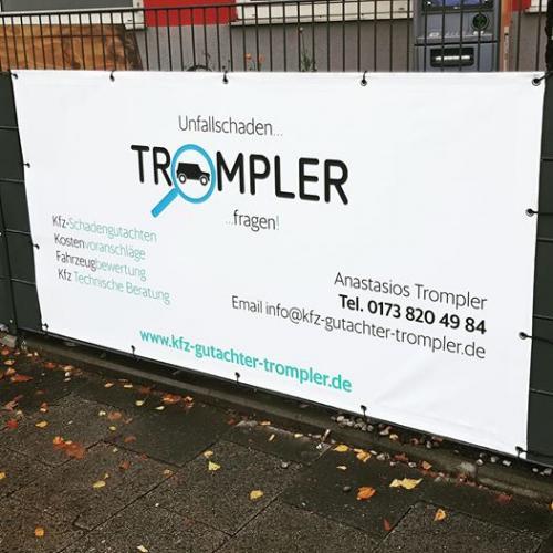 kfz-gutachter-trompler-werbung-plakat